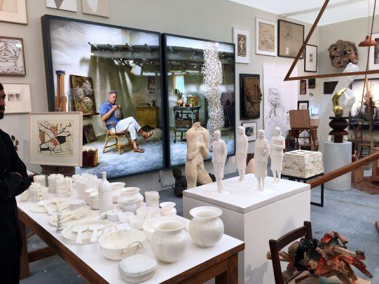 L'atelier des Artistes Hauser&Wirth ©Thegazeofaparisienne