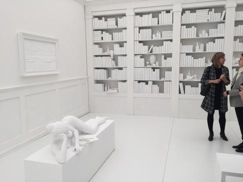 Hans Op de Beck The Silent Library (2016) Marianne Boesky Gallery. ©Thegazeofaparisienne