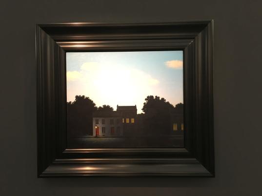 Magritte L'empire des Lumières -1949 Dickinson gallery ©Thegazeofaparisienne