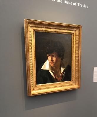 Théodore Géricault Portrait d'Eugène Delacroix- 1817 collection du Duc de Trévise - Galerie Jean Luc Baroni ©Thegazeofaparisienne