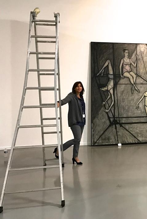 Dominique Gagneux Commissaire de l'exposition ©Thegazeofaparisienne