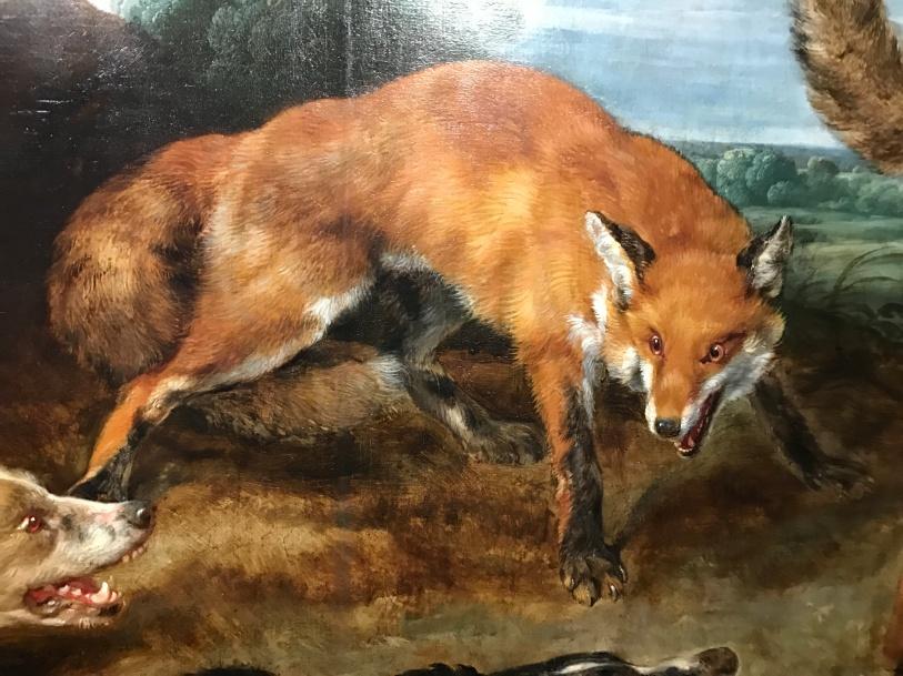"""Paul de Vos """"La chasse aux renards"""""""