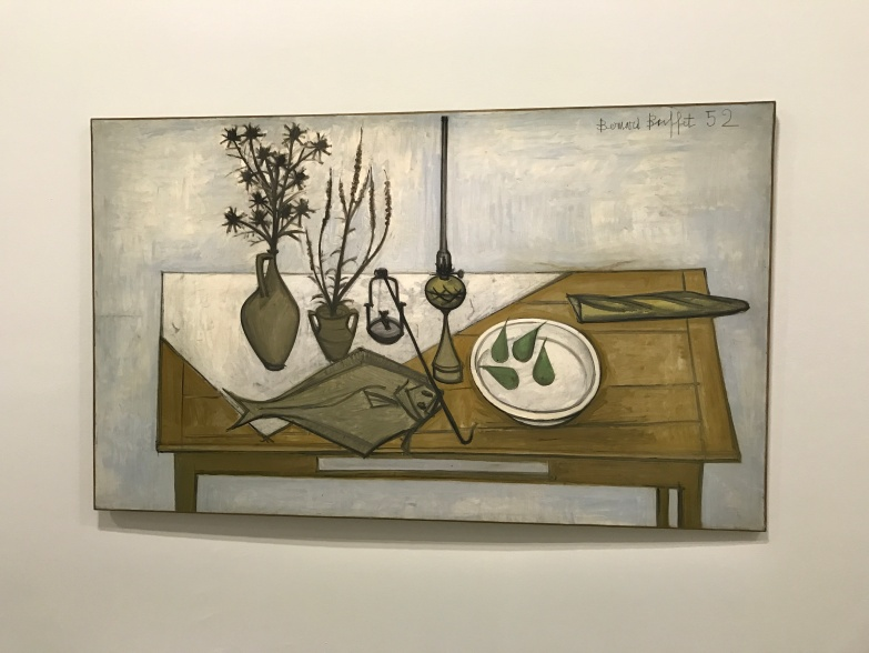 """Nature morte à la sole"" 1952 Coll. Pierre Bergé"