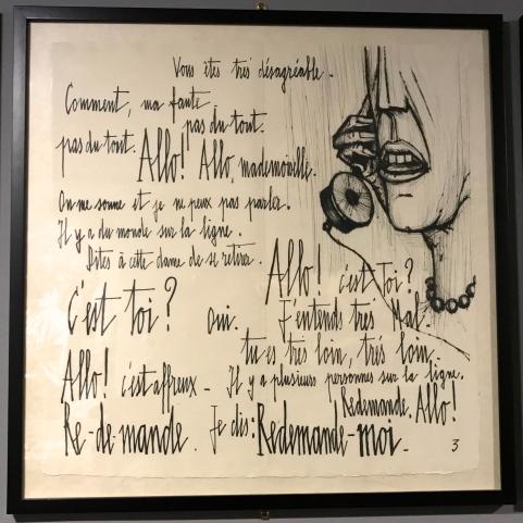 Jean Cocteau - La voix humaine.