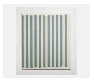 Lot 21 B DANIEL BUREN (NÉ EN 1938) Peinture aux formes variables EUR 986,500 Collection Claude Berri 22 /10/2016, Christie's Paris