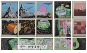 GILLES BARBIER (NÉ EN 1965) Sans titre (La Méga Maquette) EUR 37,500 Collection Claude Berri 22 /10/2016, Christie's Paris