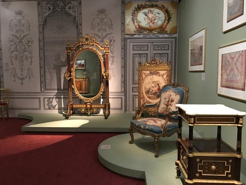 Psyché au fond de l'Impératrice au Château de Saint Cloud ©Thegazeofaparisienne