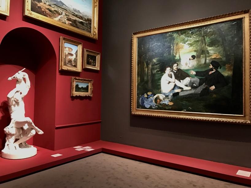 """Edouard Manet """"Le déjeuner sur l'herbe"""" ©Thegazeofaparisienne"""
