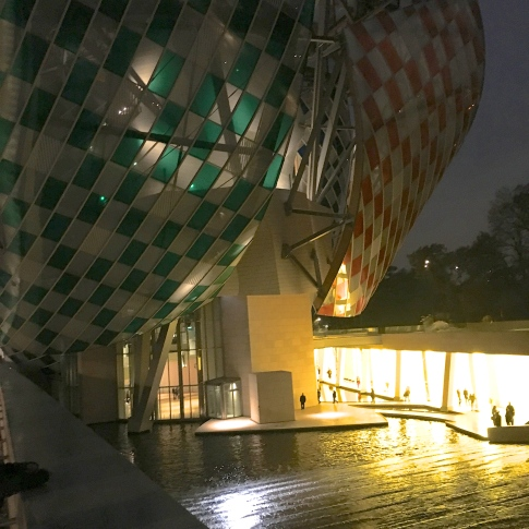 Fondation Louis Vuitton- Architecte : Frank Gerhy