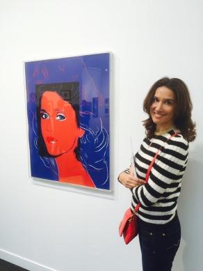 Andy Warhol Jane fonda ©Thegazeofaparisienne 23 000 Euros
