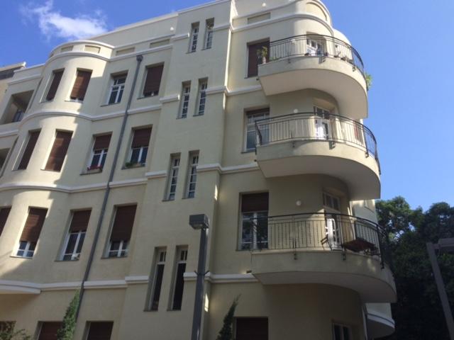 Le Bahaus à Tel Aviv ©Laurence Goldmann