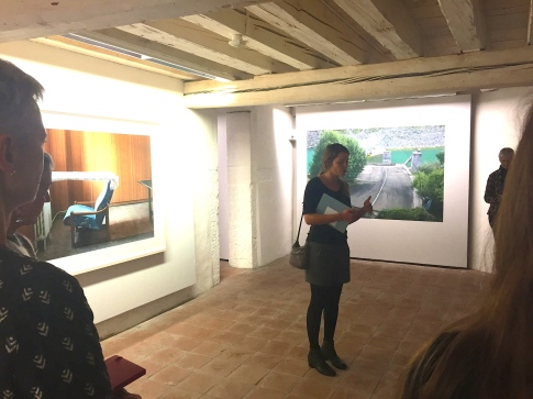 """Lydia Dorner , commissaire de l'exposition """"Provisional Arrangement"""" de martin Kollar"""