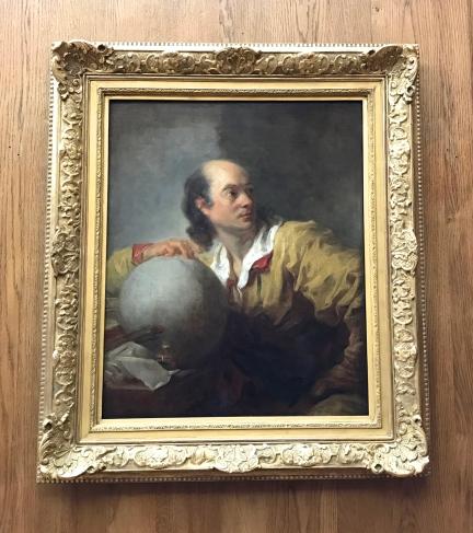 """Jean-Honoré Fragonard """"Portrait de Joseph-Jérôme Lefrançois de Lalande ?"""" vers 1769 Huile sur toile Petit Palais - Paris"""