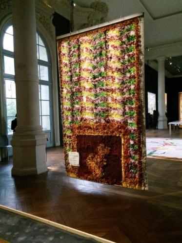 Jacques Vieille Avec Piranèse, 2008 (diptyque) Manufacture des Gobelins, 3,15 x 2,02 m 20 kg de laine, 23 couleurs, 763 jours de tissage
