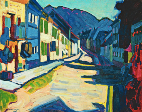 Wassilli Kandisky Etude pour Murnau 1908