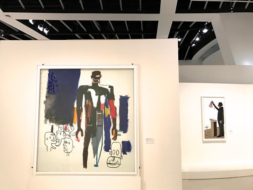 "Jean-Michel Basquiat (1960-1988) ""Fool's fetish"" 1984"
