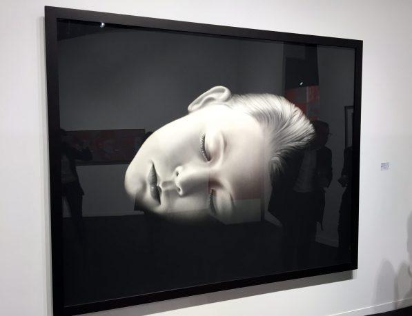 Robert Longo fusain au papier 178 x 223 cm ©thegazeofaparisienne
