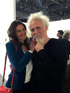 avec Piergiorgio Robino Artiste et fondateur du Studio Nucleo