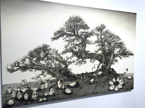 Lu Chao Relic, 2016 Galerie Nathalie Obadia ©thegazeofaparisienne