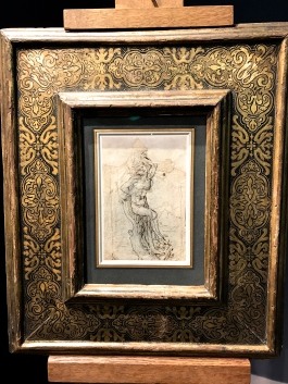 """Léonard de Vinci """"Saint Sébasien"""""""