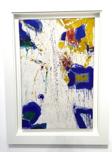 Sam Francis Deux magots, 1960 Galerie Von Vertes, ©thegazeofaparisienne