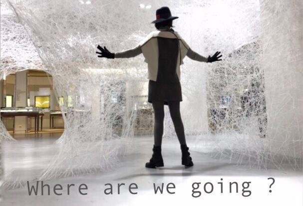 Chiharu Shiota - Bon Marché ©ThegazeofaParisiene