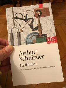Arthur Schinzler La Ronde - Folio Traduction d'Anne Longuet Marx.