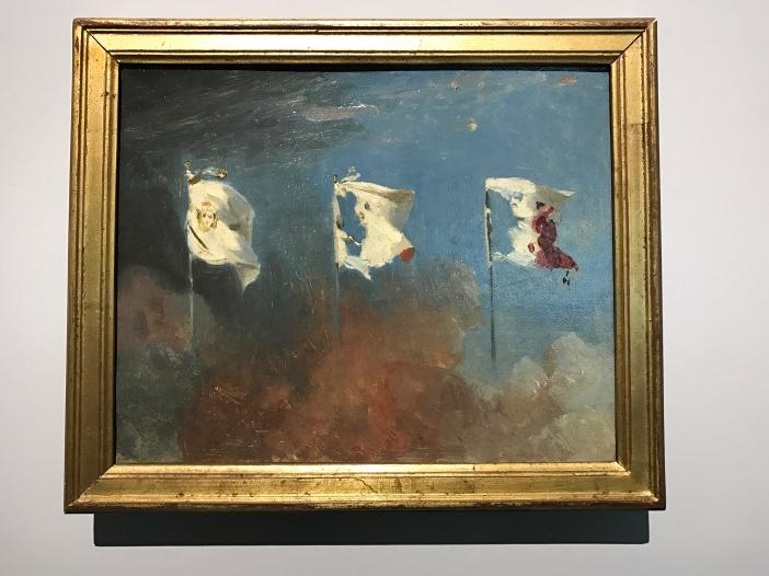 """Léon Cogniet """"Les drapeaux"""" 1830"""