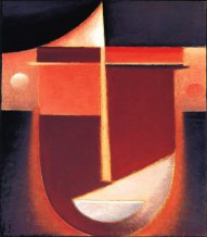 Abstract Head : Inner Vision-Rosy Light, 1926, Oil on board, Philadelphia Museum of Art, The Louise and Walter Arnsberg Collection, 1950.