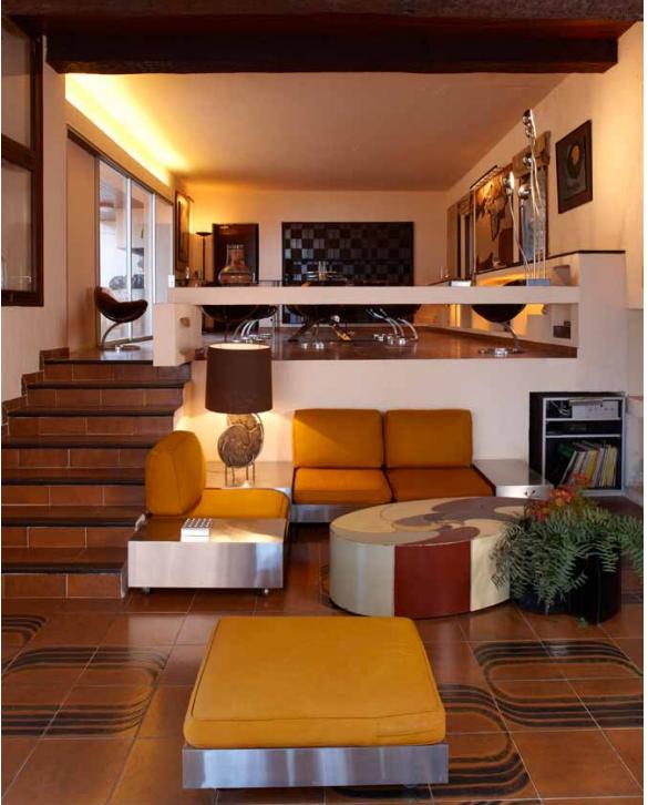 Maria Pergay Corner sofa 3 places vers 1970 Vente Arcurial 2011