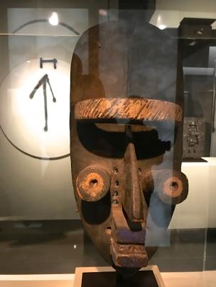 Masque Grebo - Côte d'Ivoire - 2e moitié du XIXe siècle Anc coll. Arman