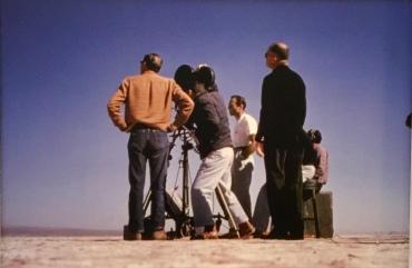"""Exposition """"Popcorn"""" musée d'Art Moderne et Contemporain Saint-Etienne Métropole, photo de tournage de Charles et Ray Eames"""