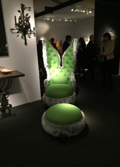 """PAD PARIS fauteuil """"Lapin"""" 2012 HUBERT LE GALL, Galerie DUMONTEIL"""
