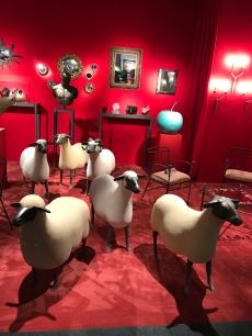 """""""Moutons"""" de FRANCOIS-XAVIER LALANNE Galerie JEAN-DAVID BOTELLA"""