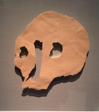 Pablo Picasso Tête de mort .papier 1943 Musée Picasso Paris