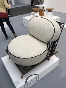"""Pouenat Ferronnier fauteuil """"Line Stream 1"""" par Isabelle Stanislas"""