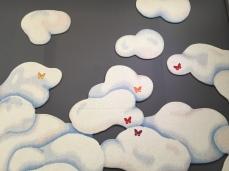 """Tapisserie """"Nuages"""" de Jean-Baptiste Auvray pour un projet de Van Cleef & Arpels, Galerie Robert Four-Aubusson"""