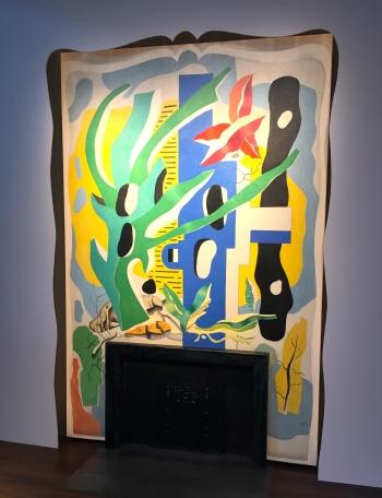 Fernand Léger,Peinture murale commandée pour la cheminée de Nelson A. Rockefeller @Thegazeofaparisienne
