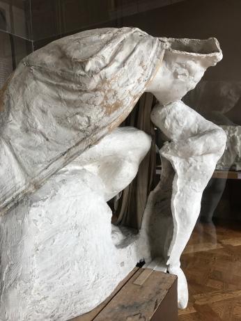 """Auguste Rodin """"Absolution"""" plâtre après 1900"""