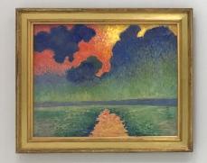 """Derain """"Effets de soleil sur l'eau"""" Londres 1906-1907 - Musée de l'Annonciade Saint TRopez"""