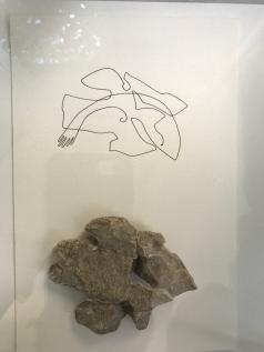 """Marko Pogacnik """"Elemental being of a stone from Srakane, Croatia"""" 2017"""