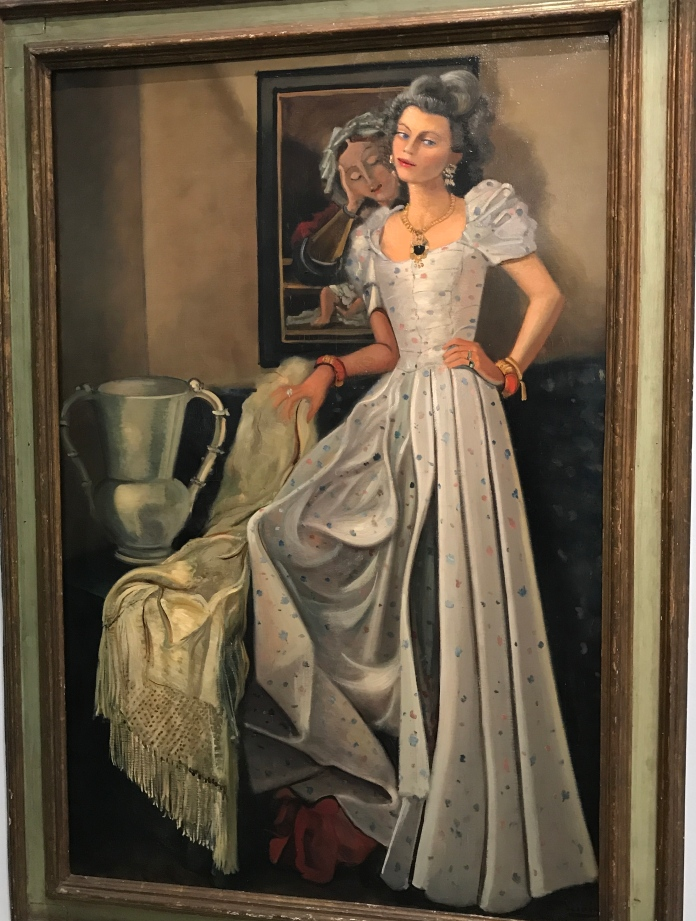 "André Derain ""Carmen Baron"" 1944 expo MAMVP Derain Balthus Giacometti. Coll Part."