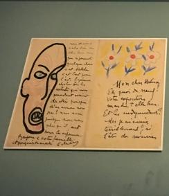 Lettre à Henri Matisse, Londres 1906