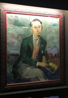 "Paul Strecker""Portrait de Christian Dior"" 1928 Granville, Musée Christian Dior"