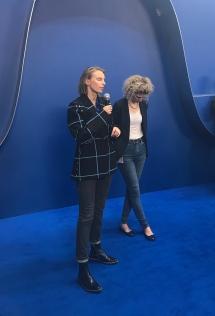 Camille Henrot et Daria de Beauvais