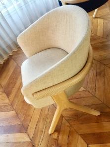 GUILLAUME DELVIGNE chaise EORA Monolithe Edition