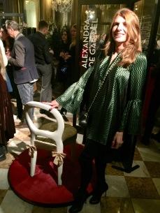 PROMEMORIA chaise BILOU BILOU par ALEXANDRA DE GARIDEL