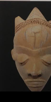 Pendentif ikhoto en forme de tête -Pendé, RdC, début du xx°Ivoire Zurich, musée Rietberg