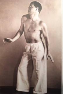Raoul Haussmann en danseur   Photo August Sander 1929 Berlin Berlinische Galerie