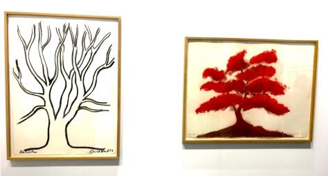 David Nash Galerie Lelong&Co ©thegazeofaparisienne